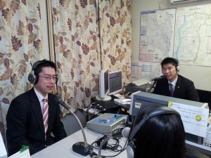 ラジオ出演 H27.3.1