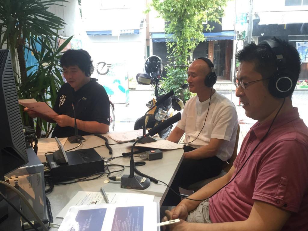 20160817レディオ湘南ラジオ出演